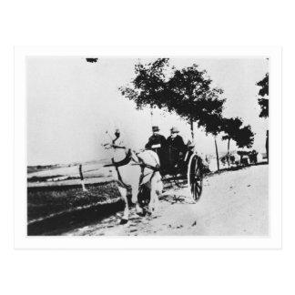 Cartão Postal Edgar Degas   Edgar Degas e um amigo