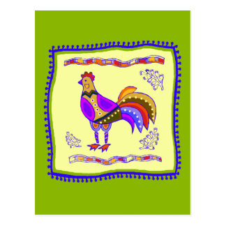 Cartão Postal Edredão da galinha