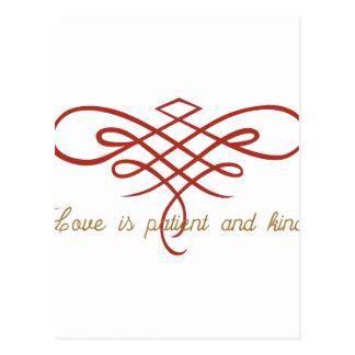 Cartão Postal Edredão do amor do casamento