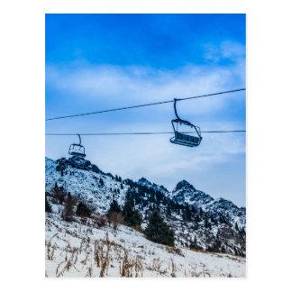 Cartão Postal Elevador de esqui