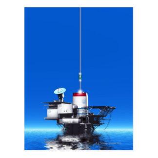 Cartão Postal Elevador do espaço