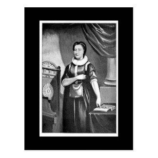 Cartão Postal Elizabeth Aldworth, Freemason fêmea