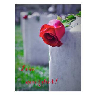 Cartão Postal Em memória Loving