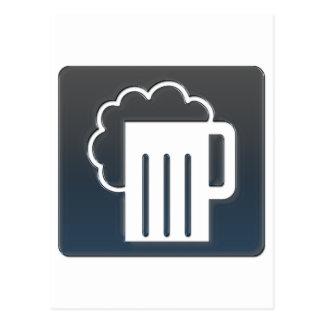 Cartão Postal Emblema da cerveja