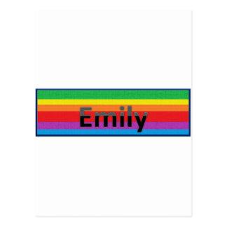 Cartão Postal Emily