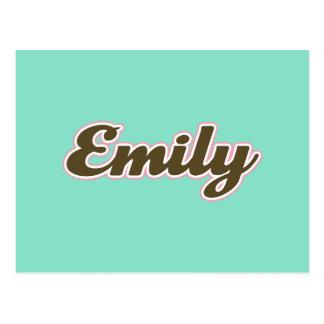 Cartão Postal Emily Brown e cerceta