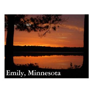 Cartão Postal Emily, Minnesota