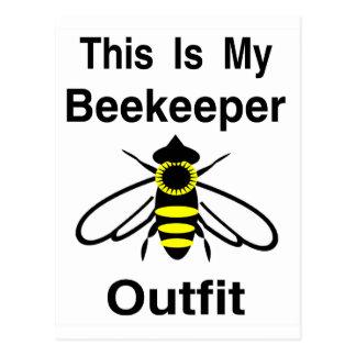 Cartão Postal Equipamento do apicultor