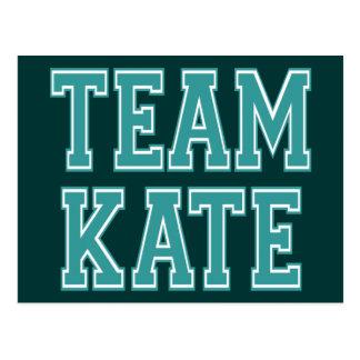 Cartão Postal Equipe Kate