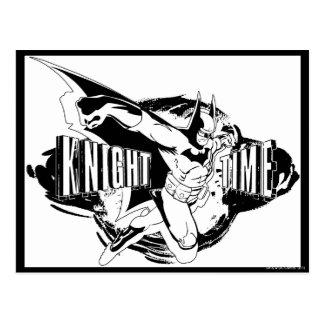 Cartão Postal Esboço do tempo do cavaleiro