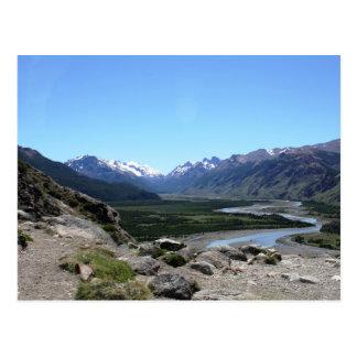 Cartão Postal Escala de Andes, Patagonia