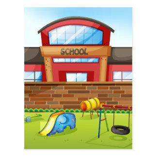 Cartão Postal Escola
