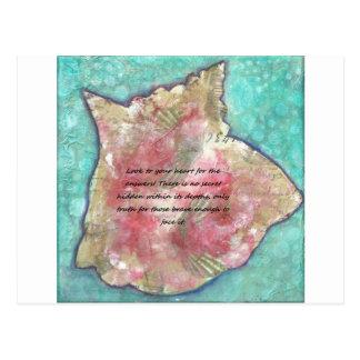 Cartão Postal Escudo do Conch