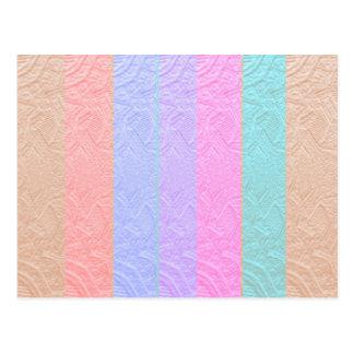 Cartão Postal Espectro de Babysoft: Trabalhos de arte gravados