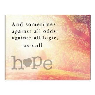 Cartão Postal Esperança