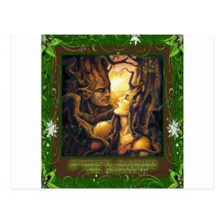 Cartão Postal Espírito da floresta