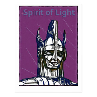 Cartão Postal Espírito da luz