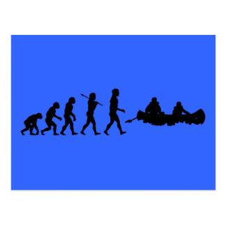 Cartão Postal Esporte Canoeing de Canoers
