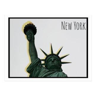 Cartão Postal Estátua da liberdade estilizado