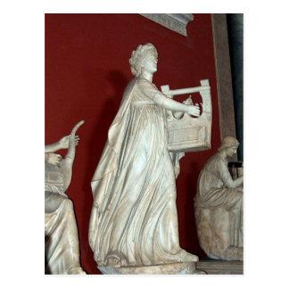 Cartão Postal Estátua de Apollo no museu do vaticano
