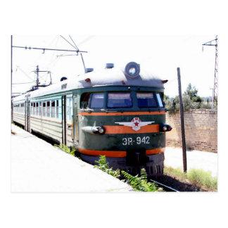 Cartão Postal Estrada de ferro