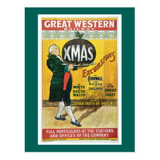 Cartão Postal Estrada de ferro de Great Western