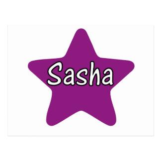Cartão Postal Estrela de Sasha