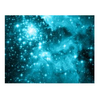 Cartão Postal Estrelas do Aqua