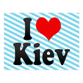 Cartão Postal Eu amo Kiev, Ucrânia
