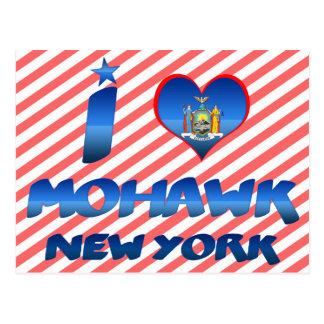 Cartão Postal Eu amo o Mohawk, New York