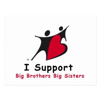Cartão Postal Eu apoio BBBS