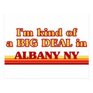 Cartão Postal Eu sou tipo de uma GRANDE COISA em Albany