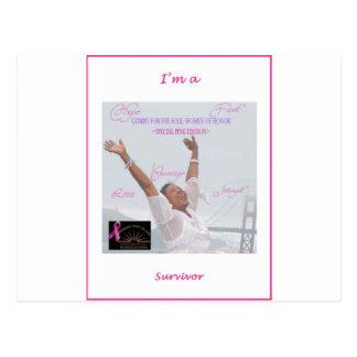 Cartão Postal Eu sou um sobrevivente