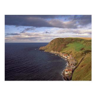 Cartão Postal Europa, Scotland, Aberdeen. Vista aérea de