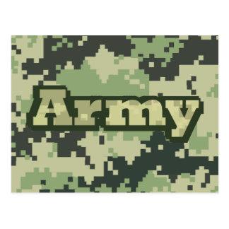 Cartão Postal Exército