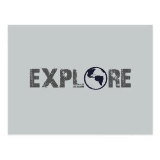 Cartão Postal Explore