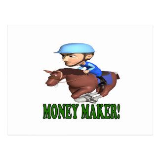 Cartão Postal Fabricante de dinheiro