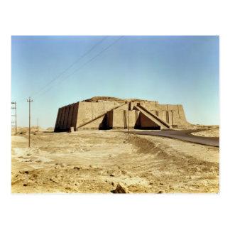 Cartão Postal Fachada do nordeste do ziggurat, c.2100 BC