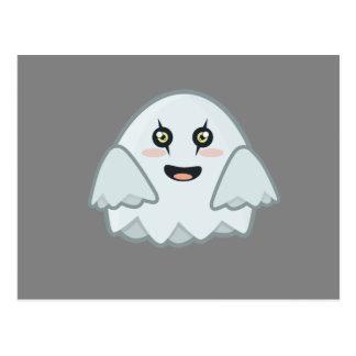 Cartão Postal Fantasma de Kawaii