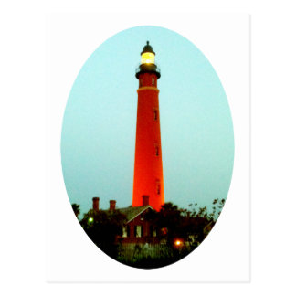Cartão Postal Farol Daytona o os presentes de Zazzle do MUSEU