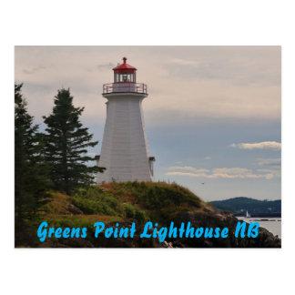 Cartão Postal Farol do ponto dos verdes