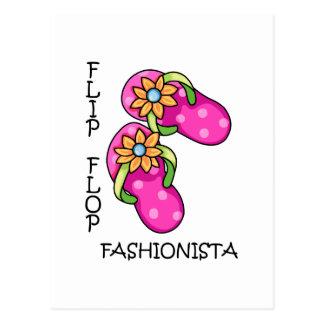 Cartão Postal Fashionista