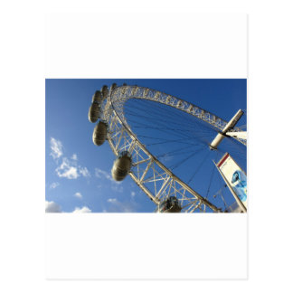 Cartão Postal Fatia de olho de Londres