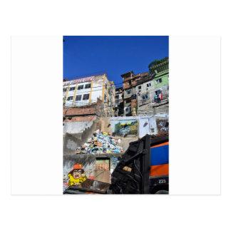 Cartão Postal Favela de Rio
