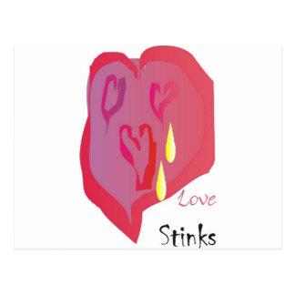 Cartão Postal Fedores do amor