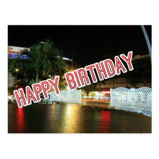 Cartão Postal Feliz aniversario