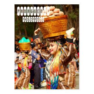 Cartão Postal Festival de Panagbenga