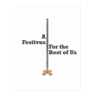 Cartão Postal Festivus