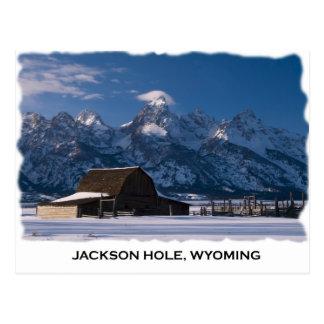 Cartão Postal Fileira do Mormon e o Tetons
