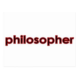 Cartão Postal filósofo